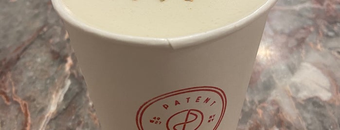 Patent Coffee is one of NYC.