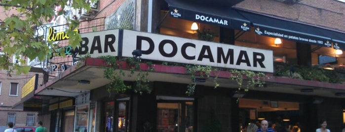 Docamar is one of Ruta del tenedor Madrid.