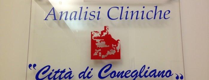 """Laboratorio Privato di Analisi Cliniche """"CITTA' DI CONEGLIANO"""" is one of Posti che sono piaciuti a Laima Arredi."""