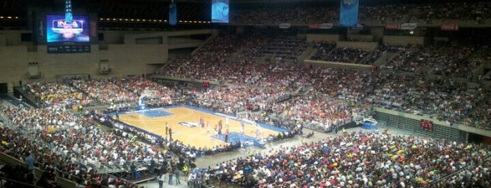 Palau Sant Jordi is one of Pabellones de baloncesto.