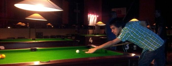Snooker is one of Billares.