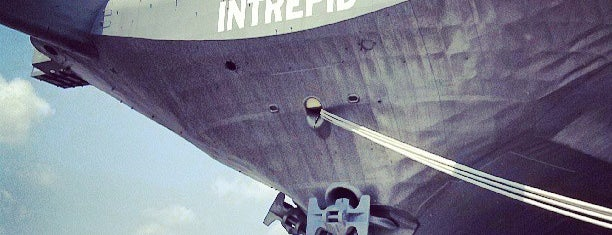 Intrepid Sea, Air & Space Museum is one of NYC.