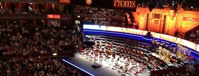 Royal Albert Hall is one of London Happy Music, Asolole.