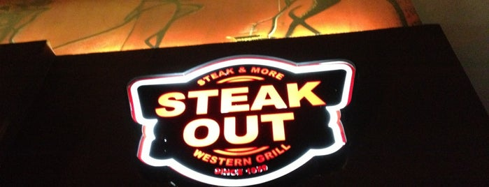 Steak Out is one of Places.