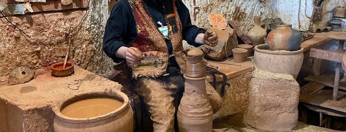 Chez Galip Pottery is one of Kapadokya.