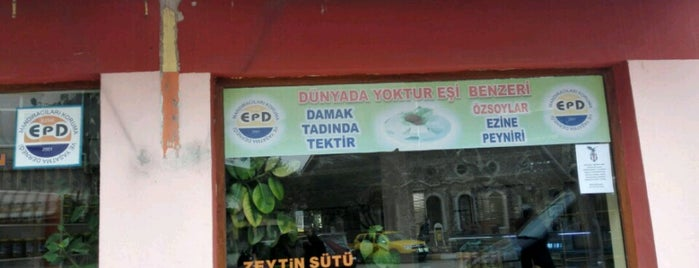 Özsoylar Ezine Peyniri Fabrika Satış Mağzası is one of Tempat yang Disukai ESRA👑.