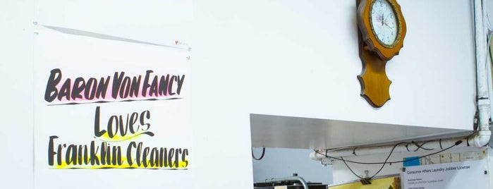 Franklin Cleaners is one of For New York: Everyday Necessities.