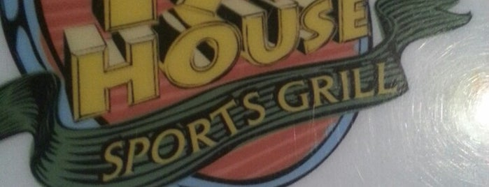 The Tap House Sports Grill is one of Locais curtidos por Carly.