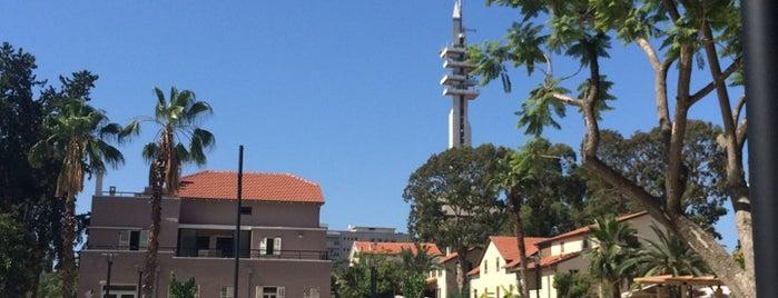 Sarona is one of Summer in Tel-Aviv.