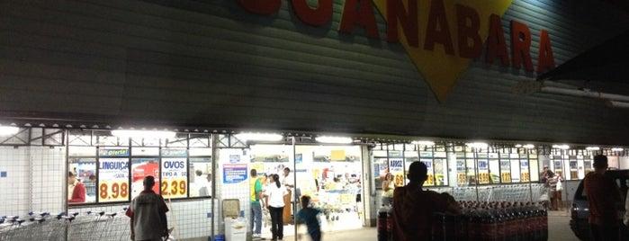 Supermercado Guanabara is one of Supermercados.