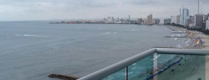 Hotel Dann Cartagena is one of Posti che sono piaciuti a Hellen.