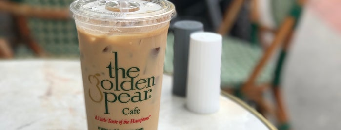 The Golden Pear Cafe is one of long island.