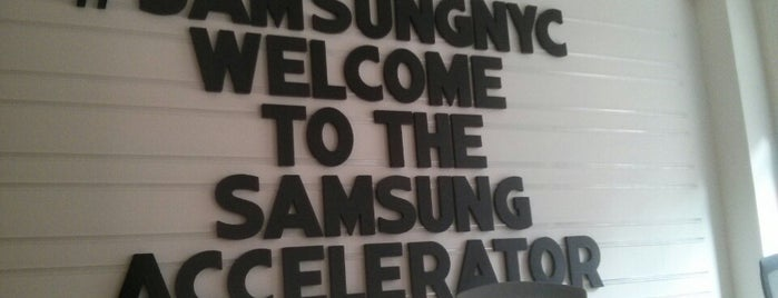 Samsung Accelerator NYC is one of Silicon Alley, NYC (List #2).
