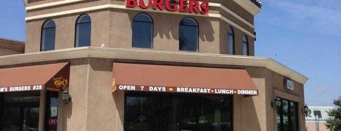 Tam's Burgers is one of Locais curtidos por Erick.