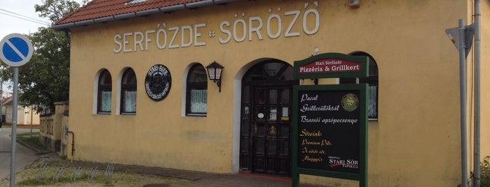 Stari Serfőzde is one of Tempat yang Disukai Orsolya.