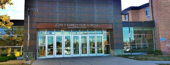 John F. Kennedy Senior High School is one of Twin Cities High Schools.
