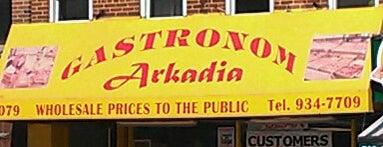 Gastronom Arkadia is one of New York stuff.