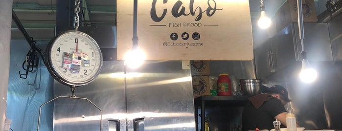 Cabo Fish & Food is one of Lieux qui ont plu à ᴡ.
