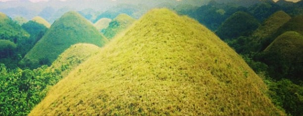 The Chocolate Hills is one of Bohol.