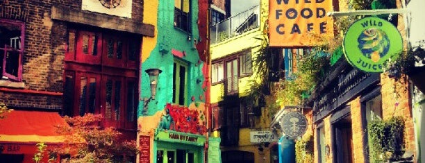 Neal's Yard is one of LOndon.