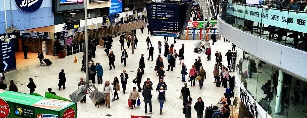 London Waterloo Railway Station (WAT) is one of London 🇬🇧.