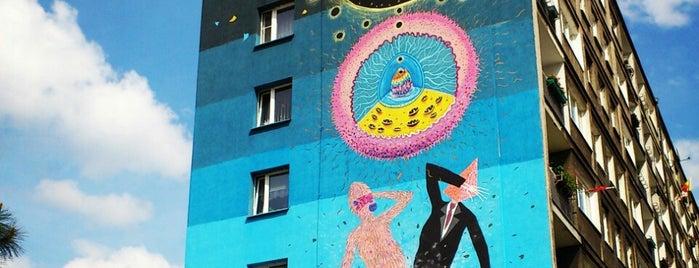 Murale festiwalu Outer Spaces w Poznaniu