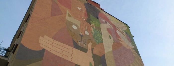 Mural na Czarnieckiego 14 is one of Murale festiwalu Outer Spaces w Poznaniu.