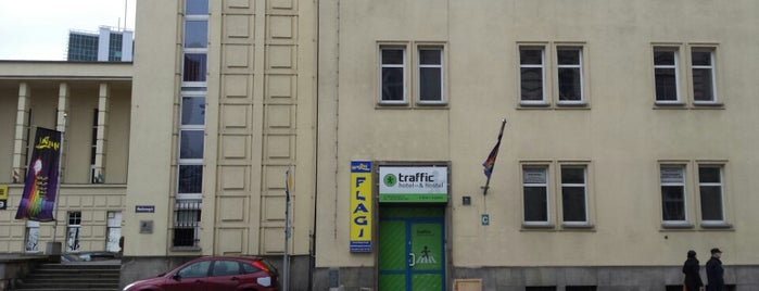 Hotel & Hostel Traffic is one of Poznań been.