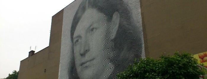 Mural na Przemysłowej 21 is one of Murale festiwalu Outer Spaces w Poznaniu.