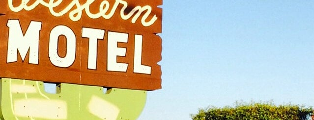 Western Motel is one of Northern CALIFORNIA: Vintage Signs.