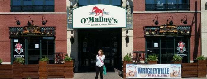 O'Malley's Liquor Kitchen is one of Bars.