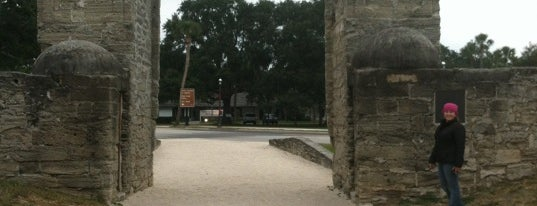 Old City Gates is one of St. Augustine, Florida.