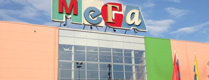 МЕГА Новосибирск / MEGA Mall is one of Orte, die Евгений gefallen.
