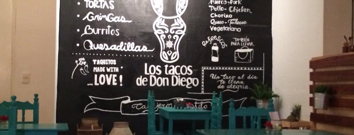 Los tacos de Don Diego is one of Amérique Centrale / Amérique du Sud.