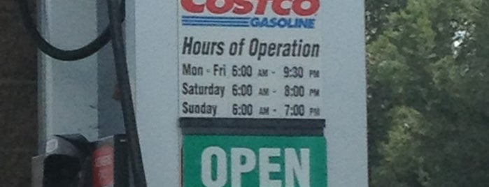 Costco Gasoline is one of My regular stops.