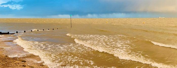 Shoebury East Beach is one of Southend.