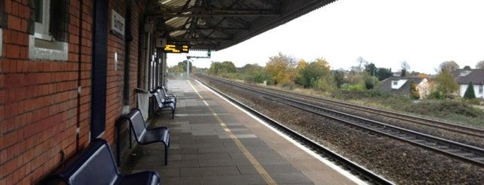Burnham Railway Station (BNM) is one of TFL Elizabeth Line Stations.