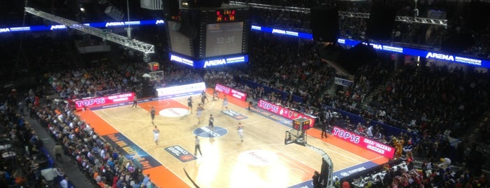 Arena Nürnberger Versicherung is one of Nürnberg, Deutschland (Nuremberg, Germany).