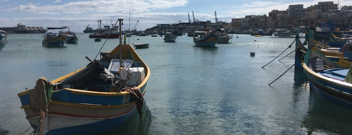 Marsaxlokk South Port is one of VISITAR Malta.
