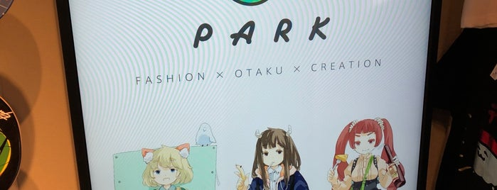 PARK is one of Lieux qui ont plu à コマシちゃん.