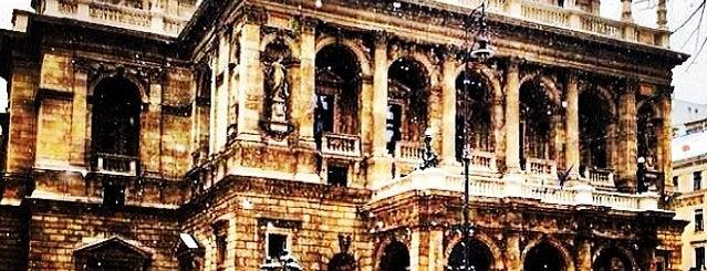 Opera Lépcső is one of Budapest.