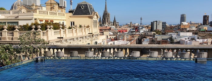 Terraza Hotel Ohla is one of barca 🇪🇸.