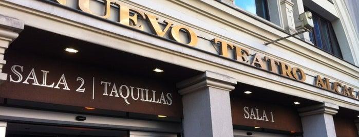 Nuevo Teatro Alcalá is one of Madrid: Teatros.