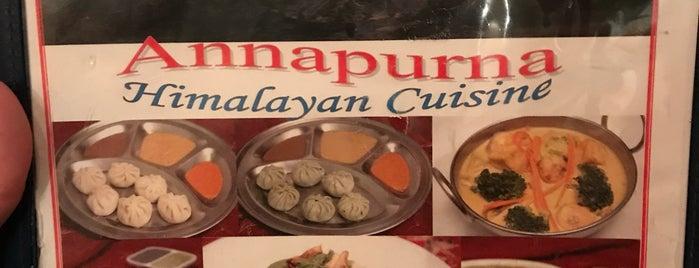 Annapurna Cafe is one of Lugares favoritos de Jeffrey.