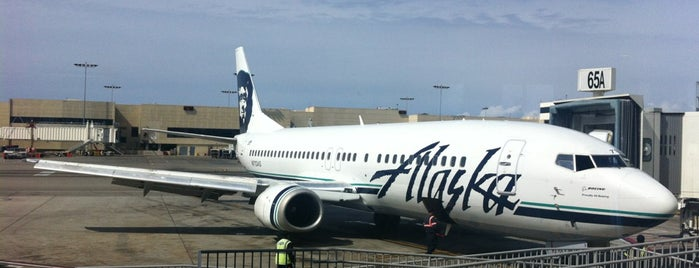 Alaska Airlines is one of Stephanie 님이 좋아한 장소.