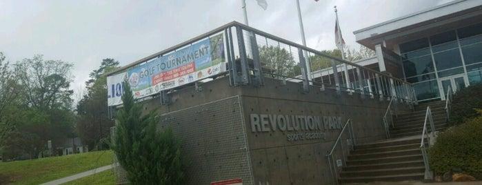 Revolution Park Sports Academy is one of Locais curtidos por Brendiflex.