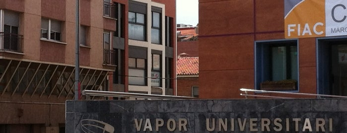 Vapor Universitari De Terrassa is one of Orte, die Carlos gefallen.