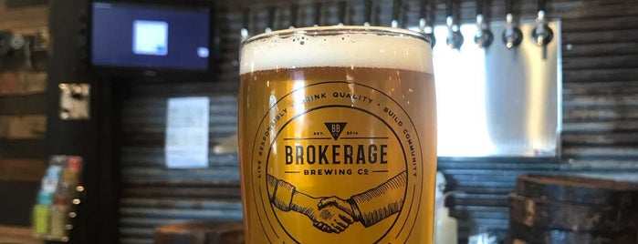 Brokerage Brewing Co is one of Indiana Breweries.