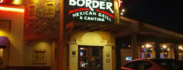 On The Border Mexican Grill & Cantina is one of Other skin on the face if acne is caused by stesd.