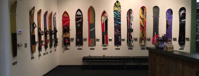 Burton Snowboards Flagship Store is one of Vermont.